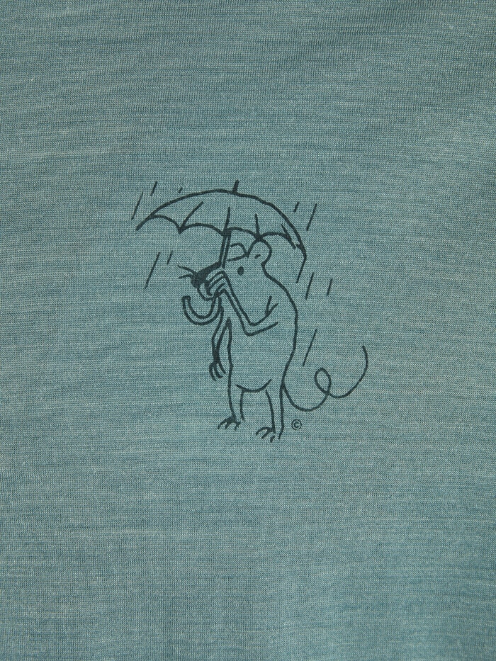 Klättermusen Eir Rain Maglietta a maniche corte Donna, brush green (2020) 999290 vEEmj